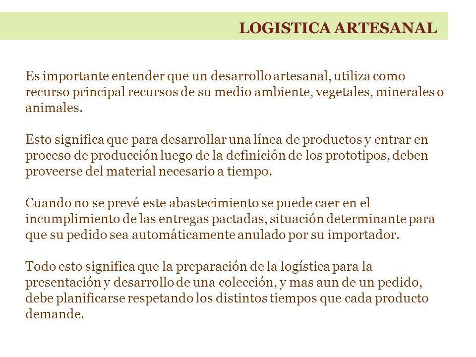 LOGISTICA ARTESANAL