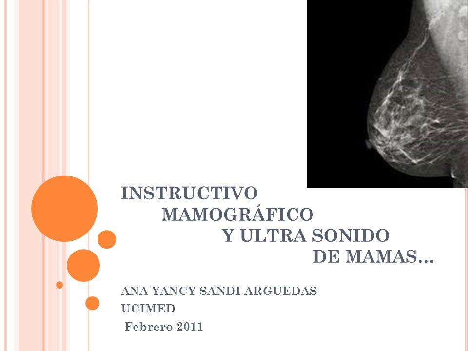 INSTRUCTIVO MAMOGRÁFICO Y ULTRA SONIDO DE MAMAS…