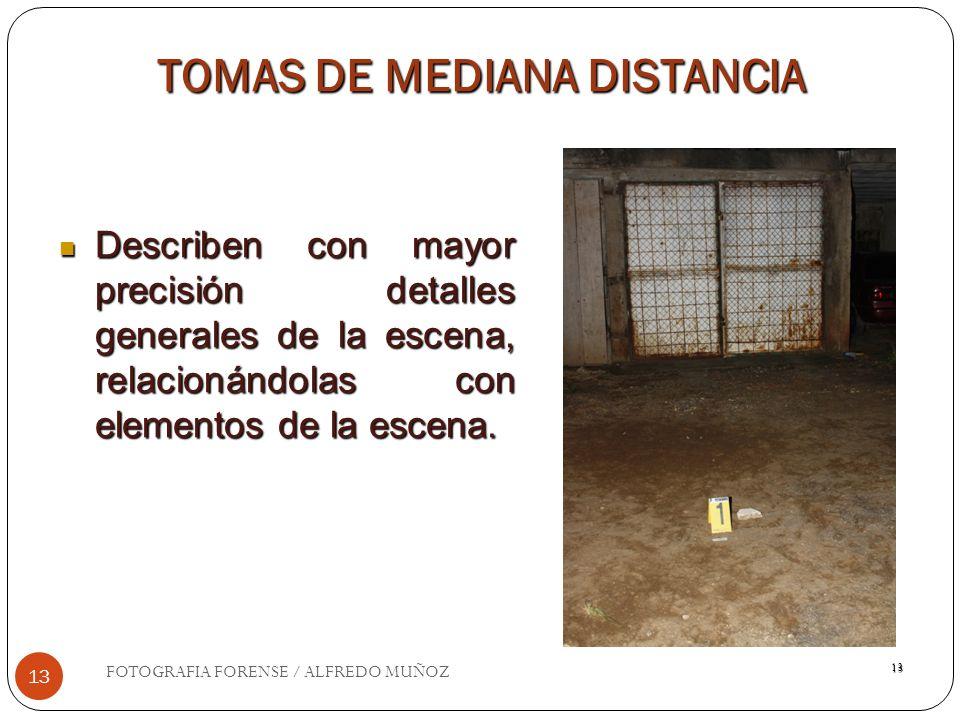 TOMAS DE MEDIANA DISTANCIA