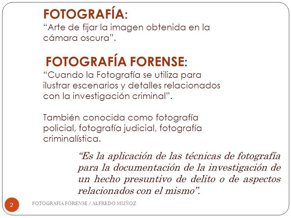 FOTOGRAFÍA: Arte de fijar la imagen obtenida en la cámara oscura