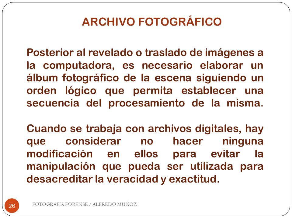 ARCHIVO FOTOGRÁFICO