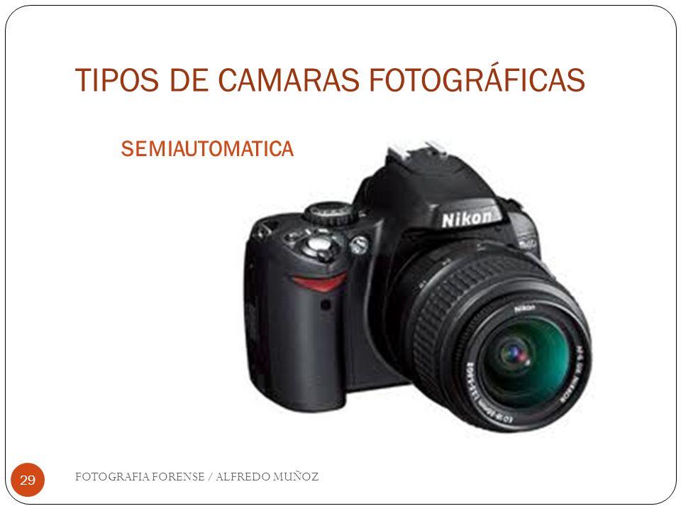 TIPOS DE CAMARAS FOTOGRÁFICAS