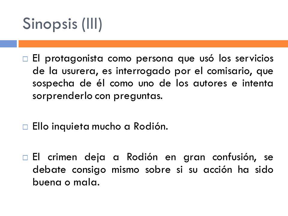 Sinopsis (III)