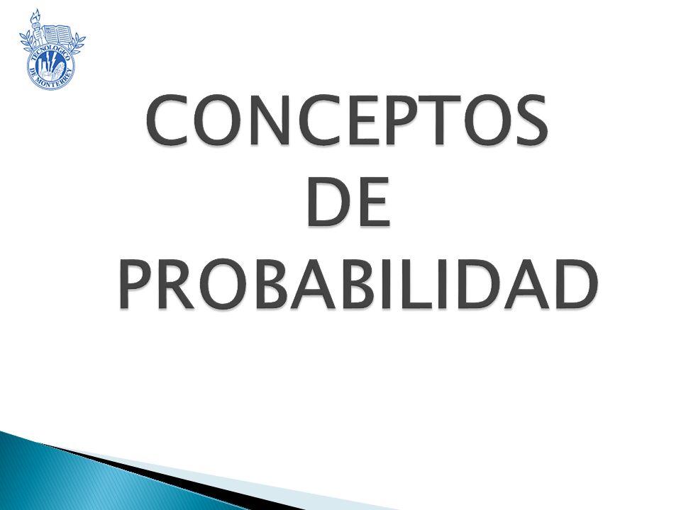 CONCEPTOS DE PROBABILIDAD