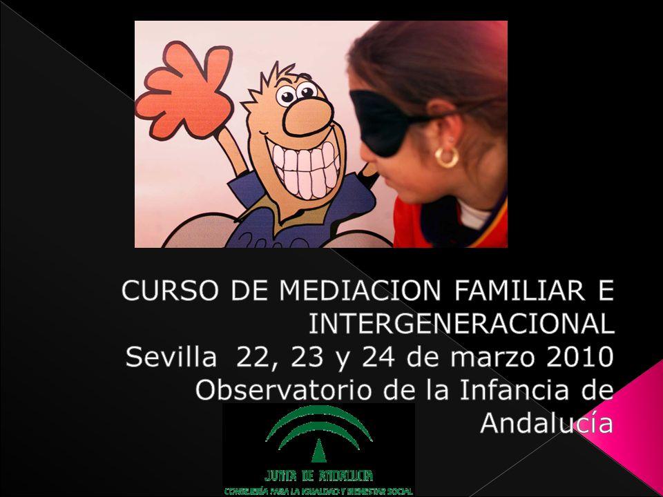 CURSO DE MEDIACION FAMILIAR E INTERGENERACIONAL