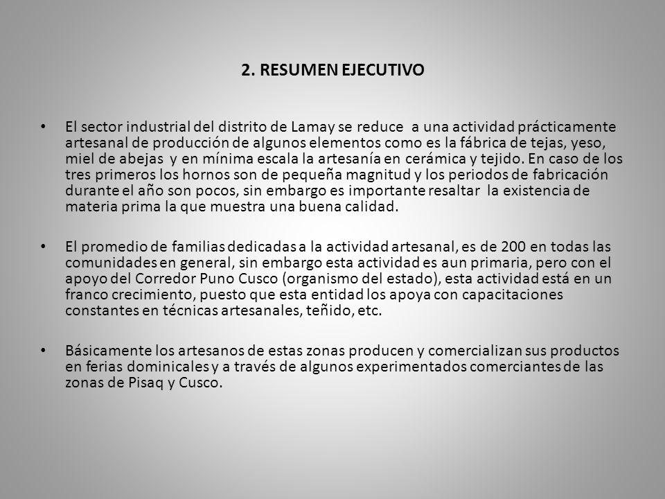 2. RESUMEN EJECUTIVO