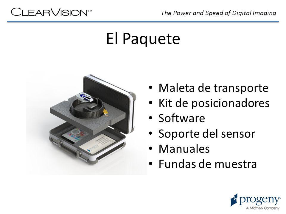 El Paquete Maleta de transporte Kit de posicionadores Software