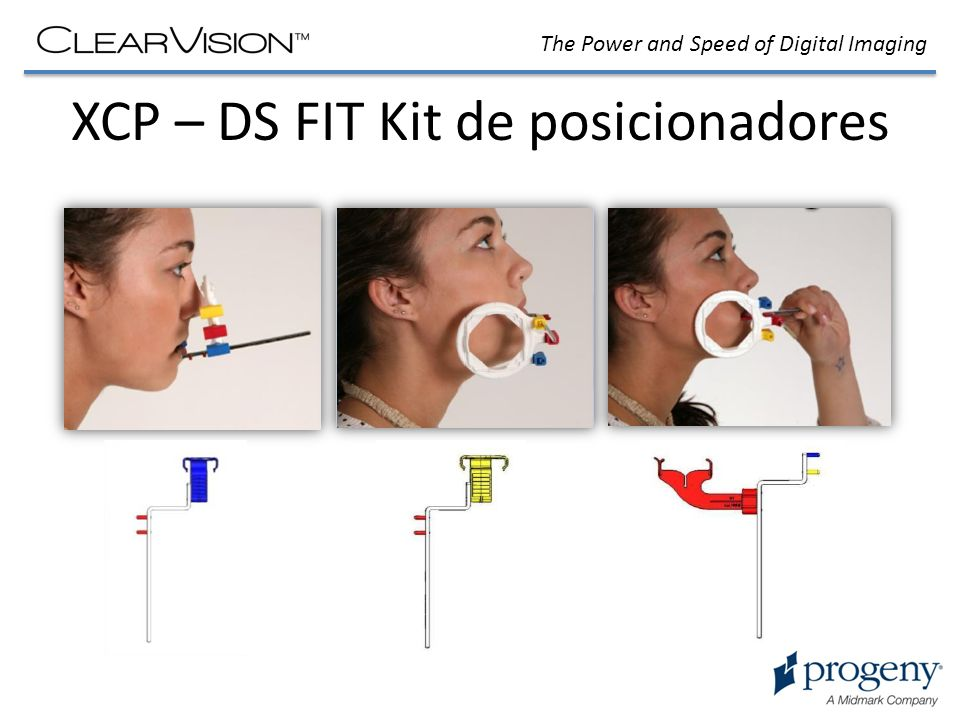 XCP – DS FIT Kit de posicionadores