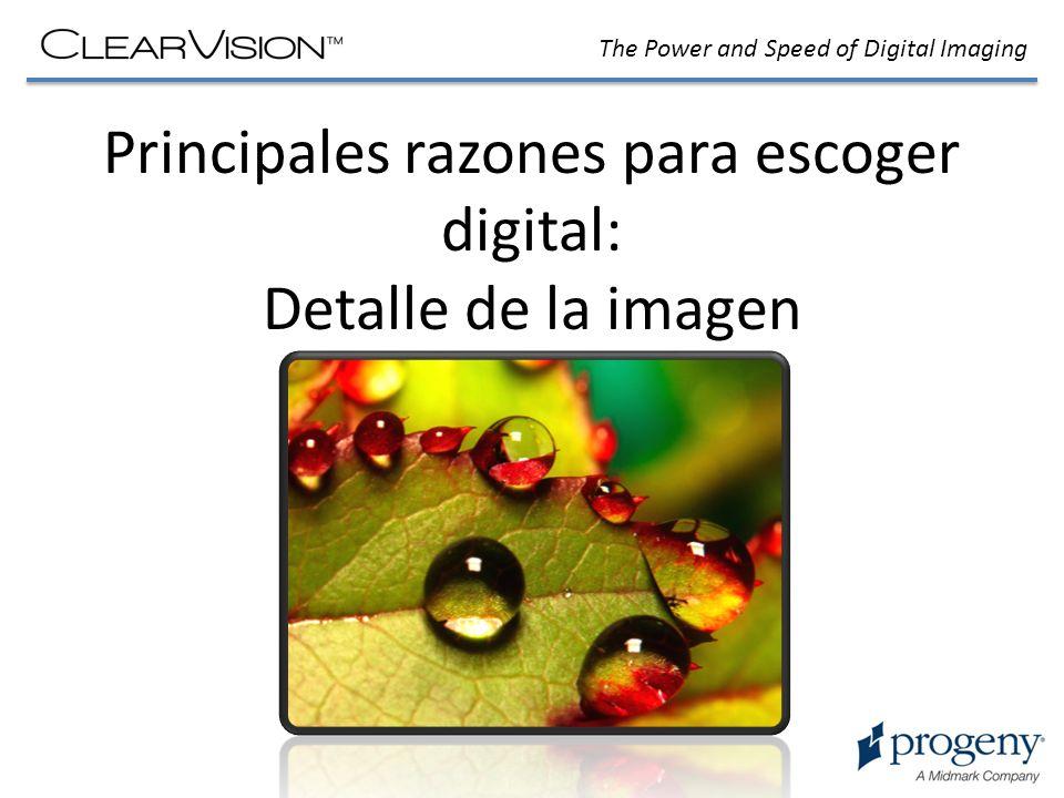 Principales razones para escoger digital: Detalle de la imagen