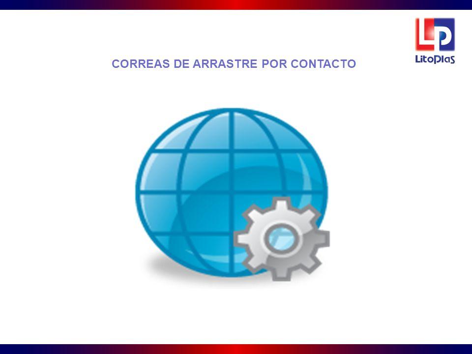 CORREAS DE ARRASTRE POR CONTACTO