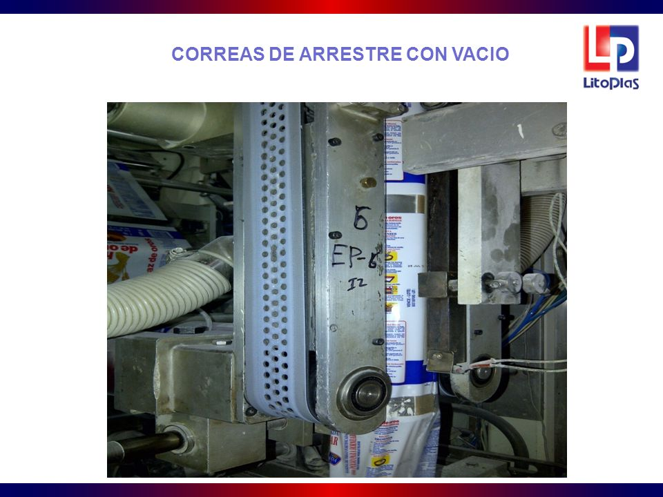 CORREAS DE ARRESTRE CON VACIO