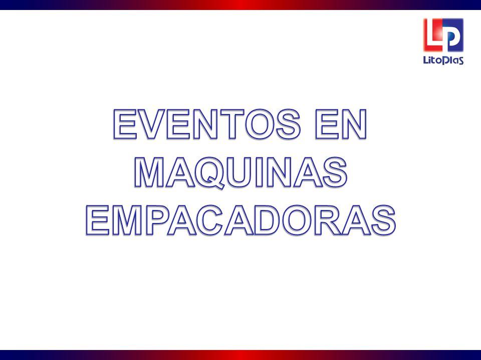 EVENTOS EN MAQUINAS EMPACADORAS