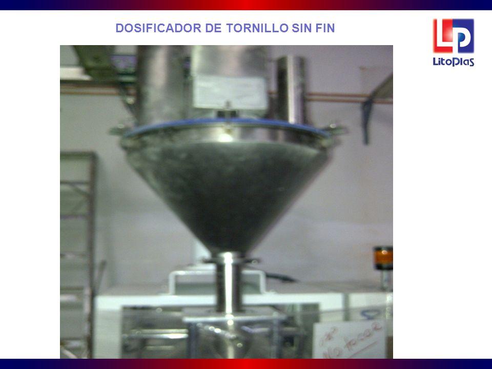 DOSIFICADOR DE TORNILLO SIN FIN