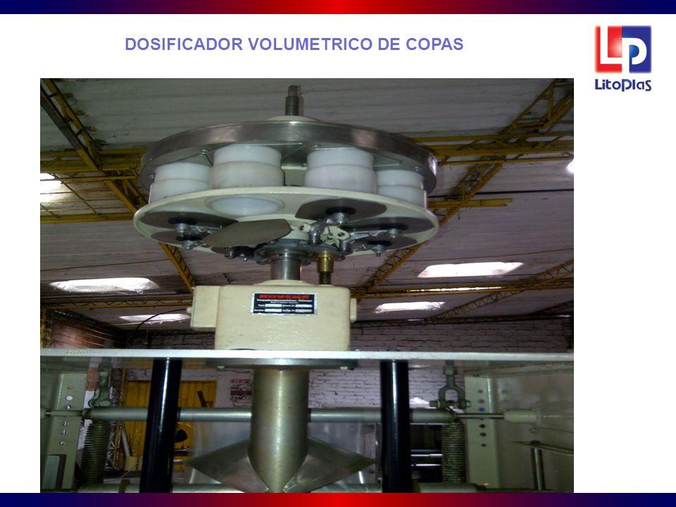 DOSIFICADOR VOLUMETRICO DE COPAS