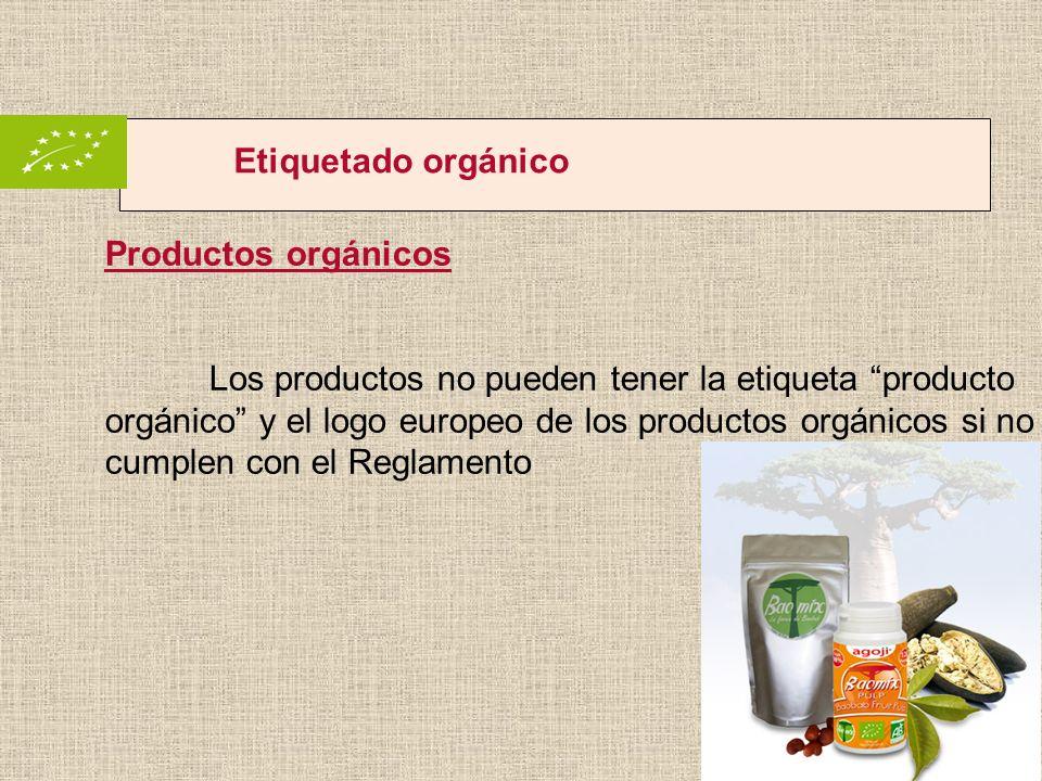 Etiquetado orgánico