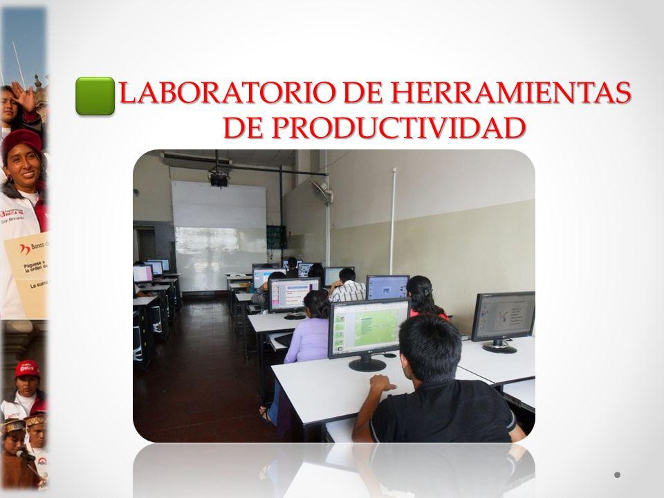 LABORATORIO DE HERRAMIENTAS DE PRODUCTIVIDAD