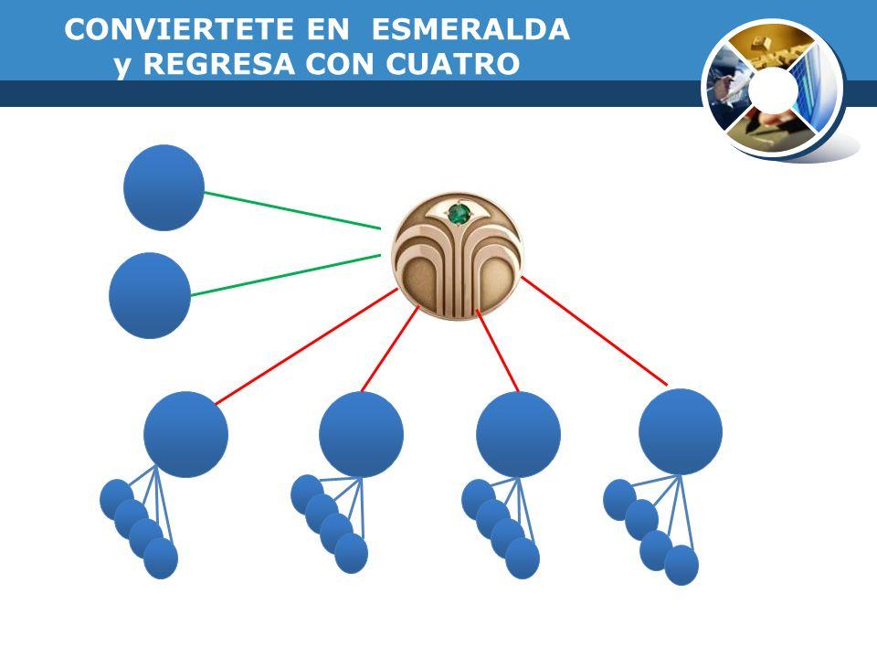 CONVIERTETE EN ESMERALDA y REGRESA CON CUATRO
