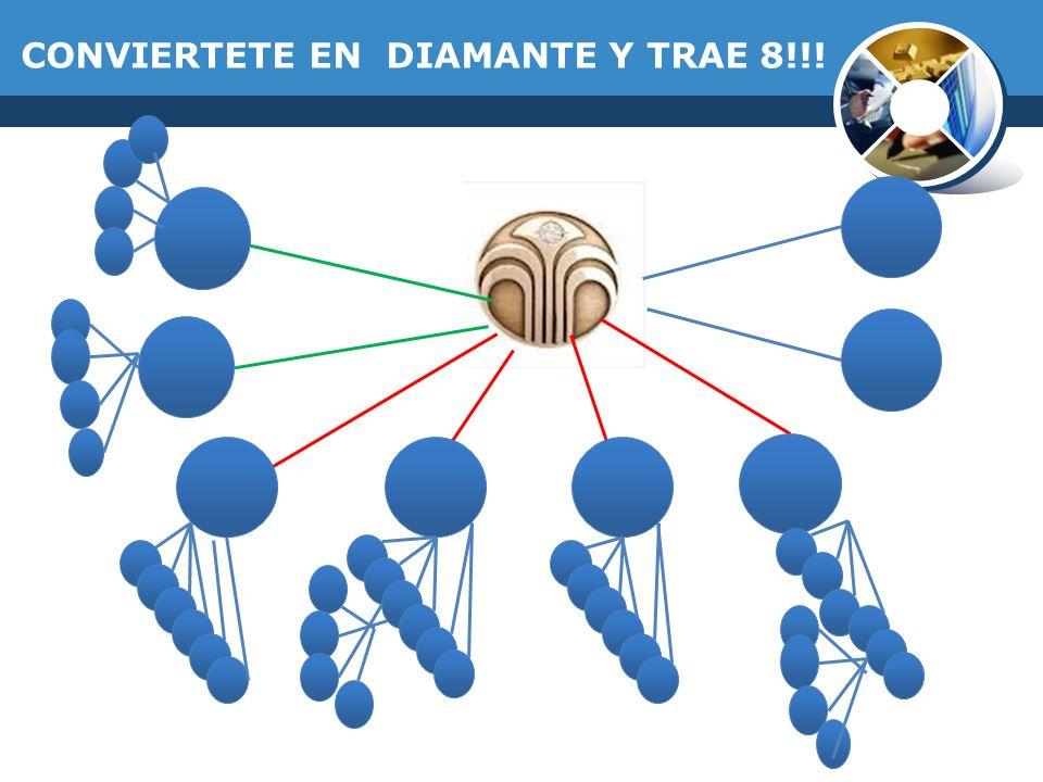 CONVIERTETE EN DIAMANTE Y TRAE 8!!!