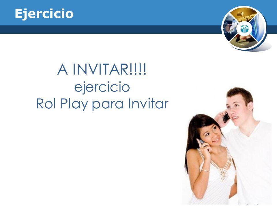 Ejercicio A INVITAR!!!! ejercicio Rol Play para Invitar Company Logo