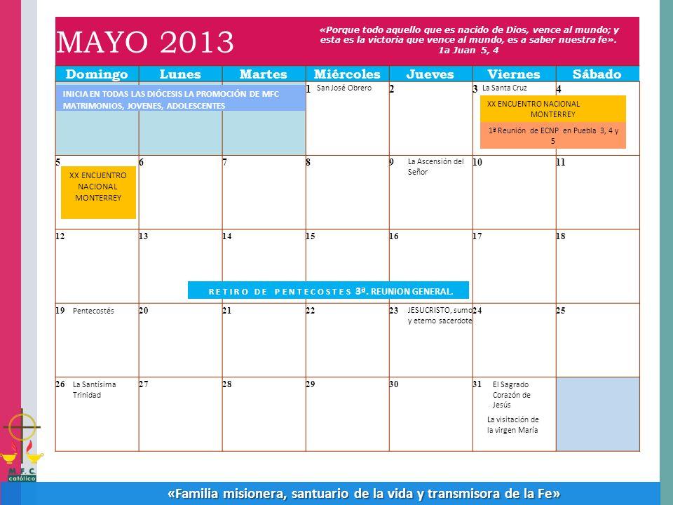 1ª Reunión de ECNP en Puebla 3, 4 y 5