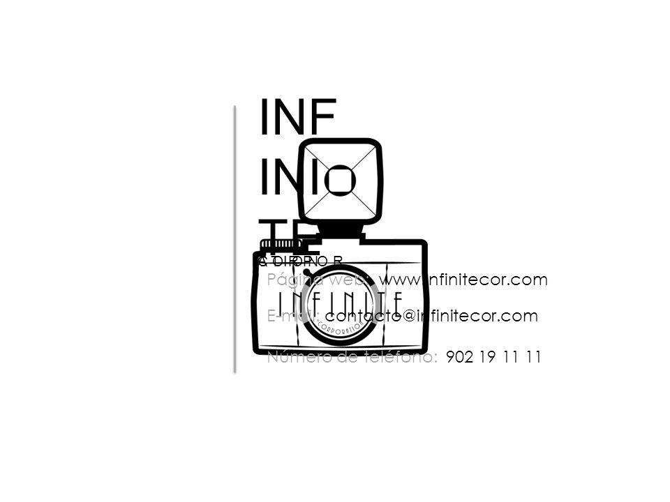 INFINITE C O R P O R A T I O N. Página web: www.infinitecor.com. E-mail: contacto@infinitecor.com.