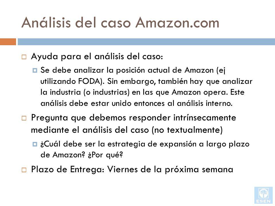Análisis del caso Amazon.com