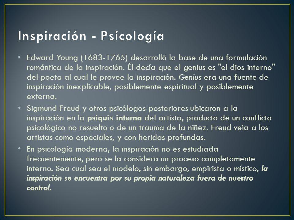 Inspiración - Psicología