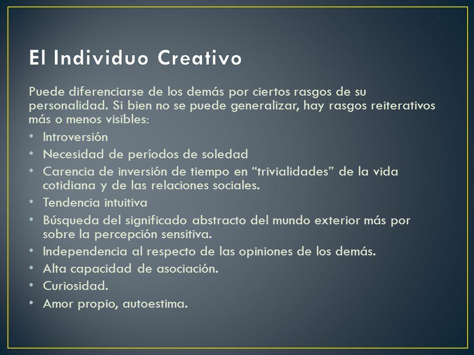 El Individuo Creativo