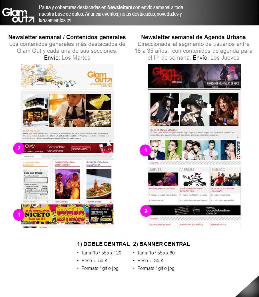 Newsletter semanal / Contenidos generales
