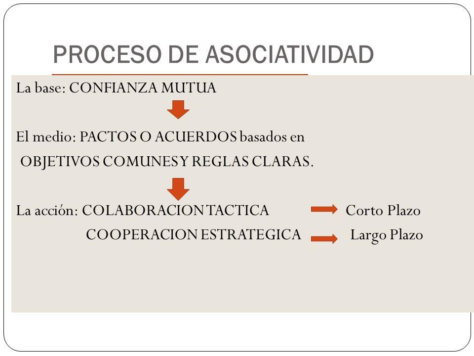 PROCESO DE ASOCIATIVIDAD