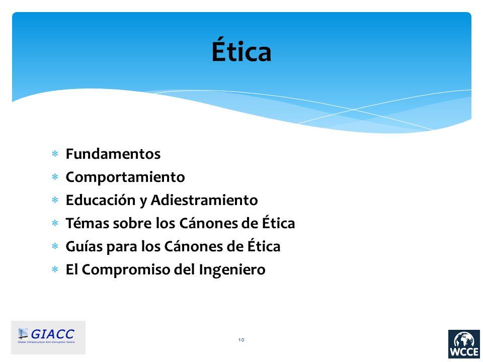 Ética Fundamentos Comportamiento Educación y Adiestramiento