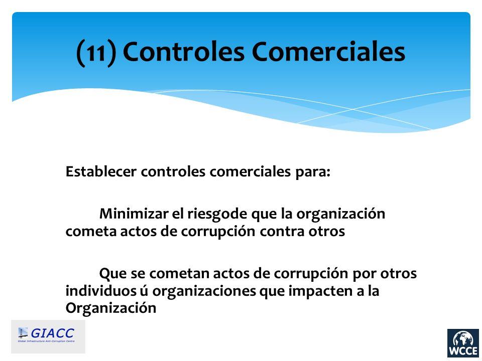 (11) Controles Comerciales