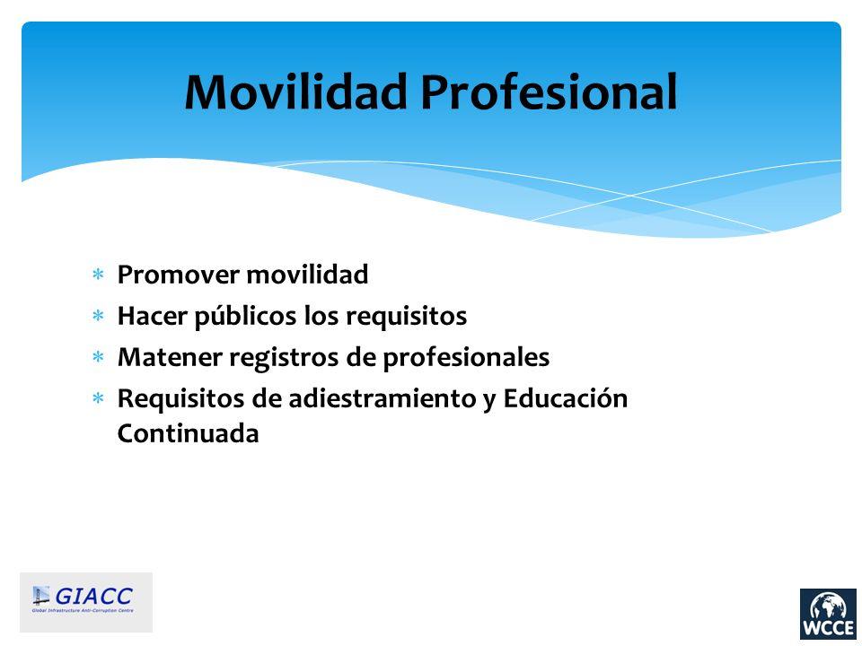 Movilidad Profesional