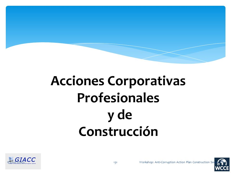 Acciones Corporativas Profesionales y de Construcción