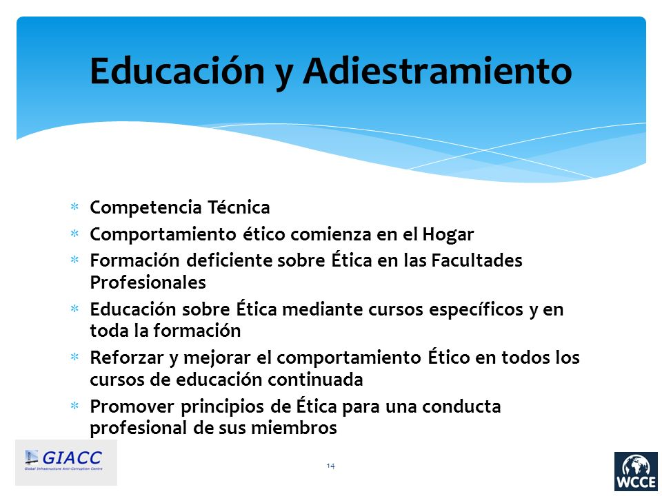 Educación y Adiestramiento