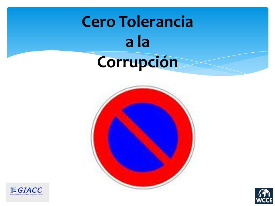 Cero Tolerancia a la Corrupción