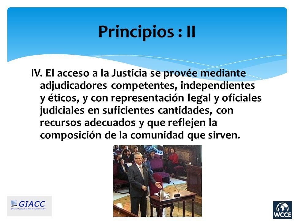 Principios : II