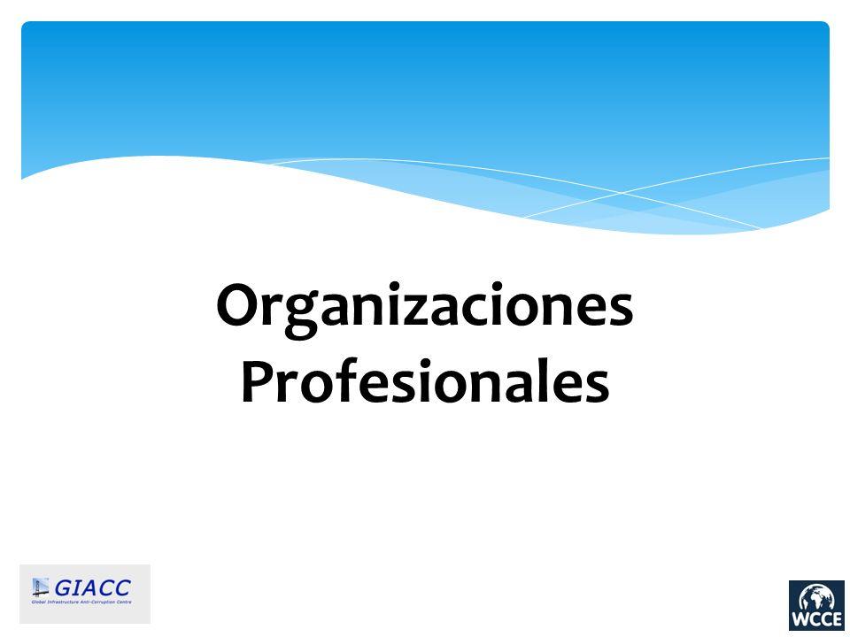 Organizaciones Profesionales