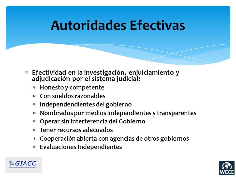 Autoridades Efectivas
