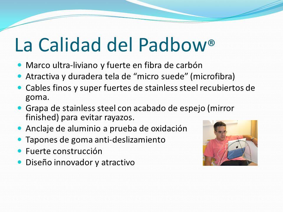 La Calidad del Padbow® Marco ultra-liviano y fuerte en fibra de carbón