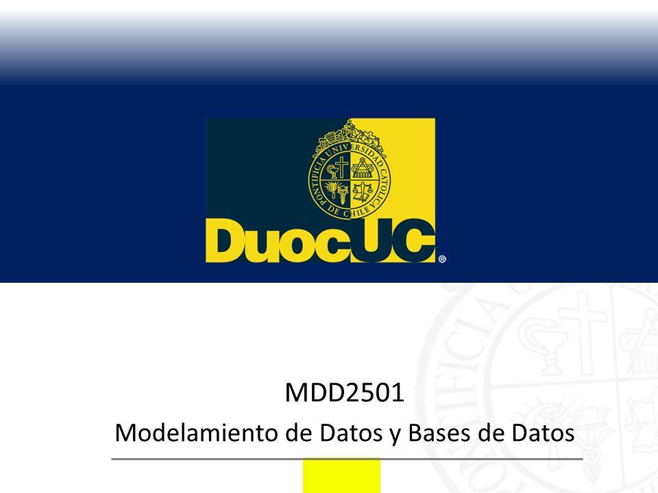Modelamiento de Datos y Bases de Datos