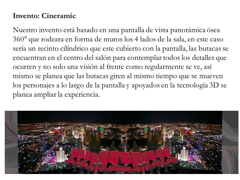Invento: Cineramic