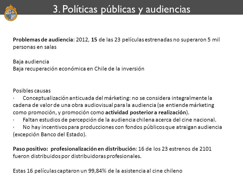 3. Políticas públicas y audiencias