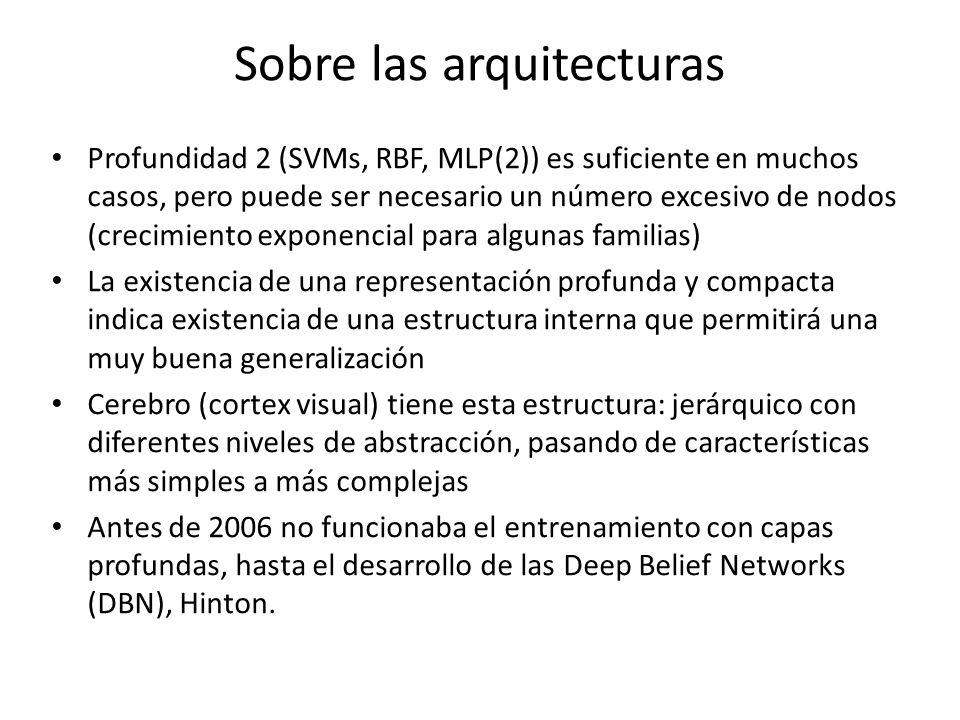 Sobre las arquitecturas