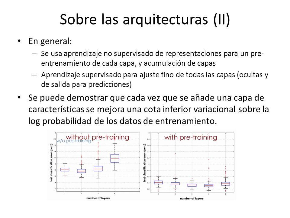 Sobre las arquitecturas (II)