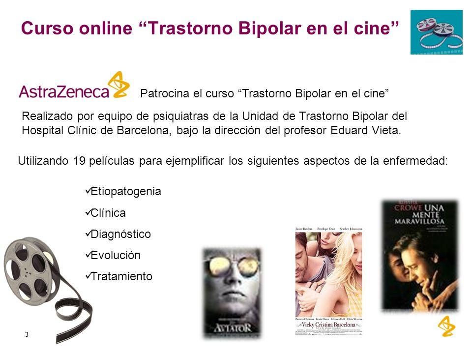 Curso online Trastorno Bipolar en el cine