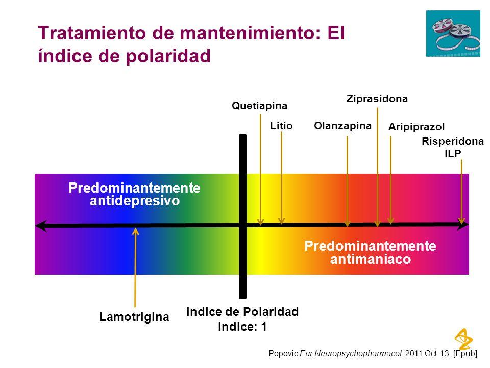 Tratamiento de mantenimiento: El índice de polaridad