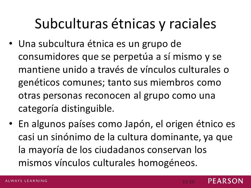 Subculturas étnicas y raciales