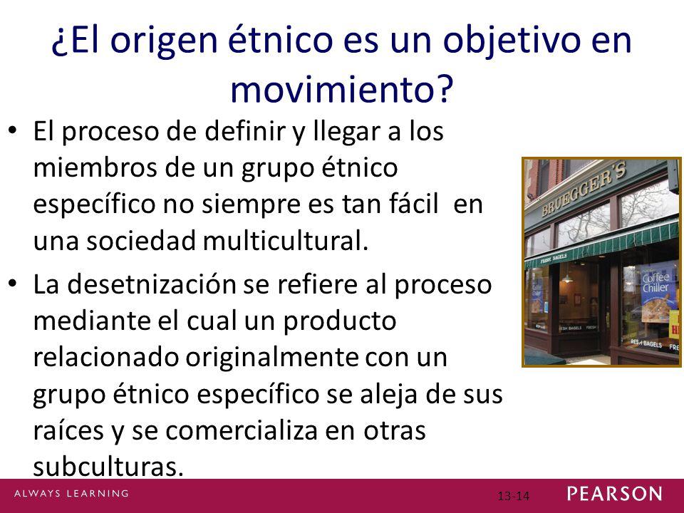 ¿El origen étnico es un objetivo en movimiento