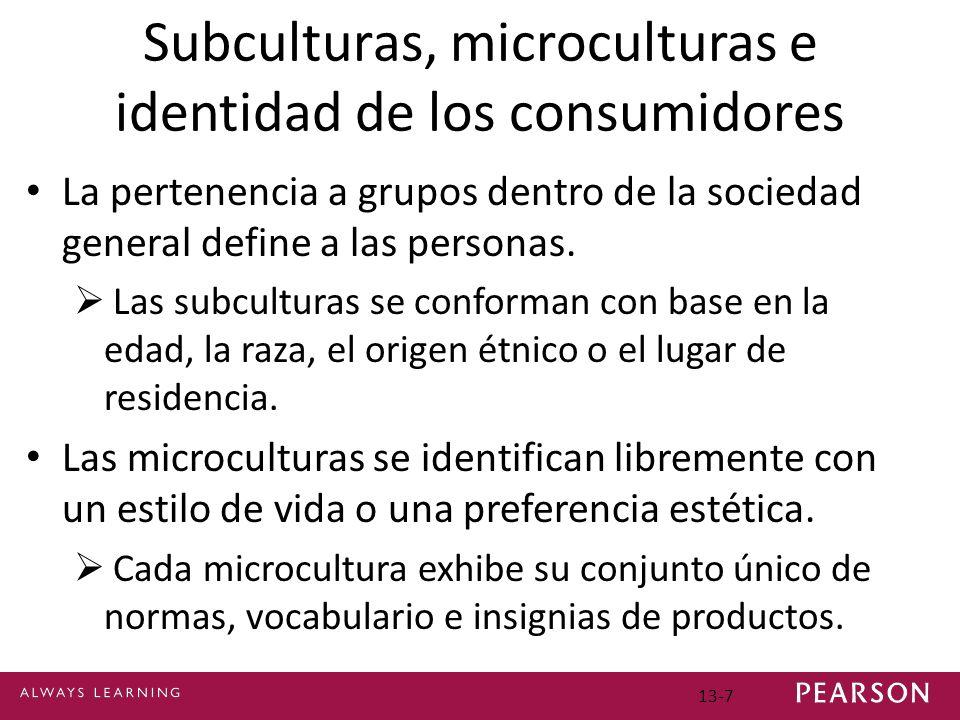 Subculturas, microculturas e identidad de los consumidores